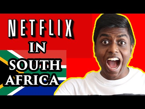 NETFLIX IS IN SOUTH AFRICA!!!