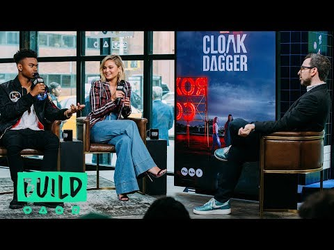 Olivia Holt & Aubrey Joseph Stop By To Talk About Marvel's