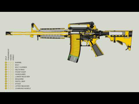Ar 15 M 16 Function Animation Youtube