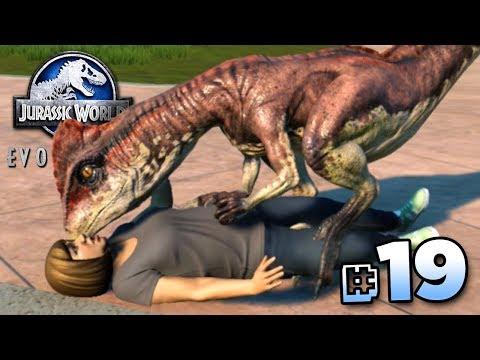 DINOSAUR KISSES!!! - Jurassic World Evolution FULL PLAYTHROUGH | Ep19 HD