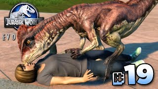 DINOSAUR KISSES!!! - Jurassic World Evolution FULL PLAYTHROUGH | Ep19 HD