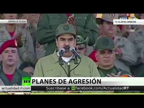 Maduro acusa a Duque de hacer planes militares contra Venezuela