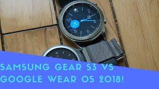 Video Samsung Gear S3 Vs Google Wear OS 2018! download MP3, 3GP, MP4, WEBM, AVI, FLV September 2018