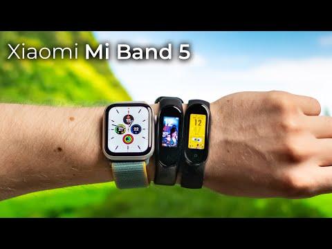 35+ нововведений Mi Band 5! Стоит ли теперь переплачивать за Apple Watch? Mi Band 5 vs Mi Band 4!