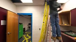 PVC Timelapse Network Cabinet Install