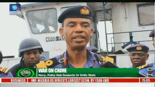 News Across Nigeria: Nigeria Navy Impounds Vessels In Rivers State