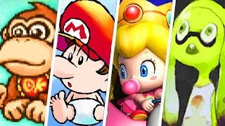 Evolution of Baby Characters in Nintendo Games (1982 - 2019)