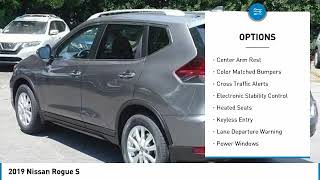 2019 Nissan Rogue Used 2019 Nissan Rogue S 191089