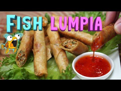 FISH SPRING ROLLS Recipe | Lumpiang Shanghai Na Isda | 魚の春巻き (Fish Recipes 2020)