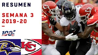 MAHOMES DEMOSTRÓ QUE NO HAY DEFENSIVA QUE LO PARE | HIGHLIGHTS RAVENS VS CHIEFS