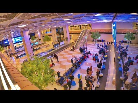 Heydar Aliyev International Airport   Baku Azerbaijan🇦🇿 [4K]