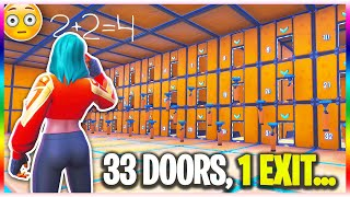 The IMPOSSIBLE Riddle Maze! (Fortnite Creative Mode)