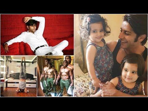 Colors Tamil Nagini Serial Hero Rocky Family Kids and Personal Photos