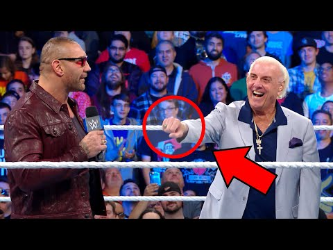 Ric Flair's botched fist bump and more you missed on SmackDown 1000: Mind of McAfee