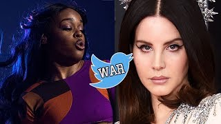 Lana Del Rey Ready To FIGHT Azealia Banks! Twitter Feud Explained!