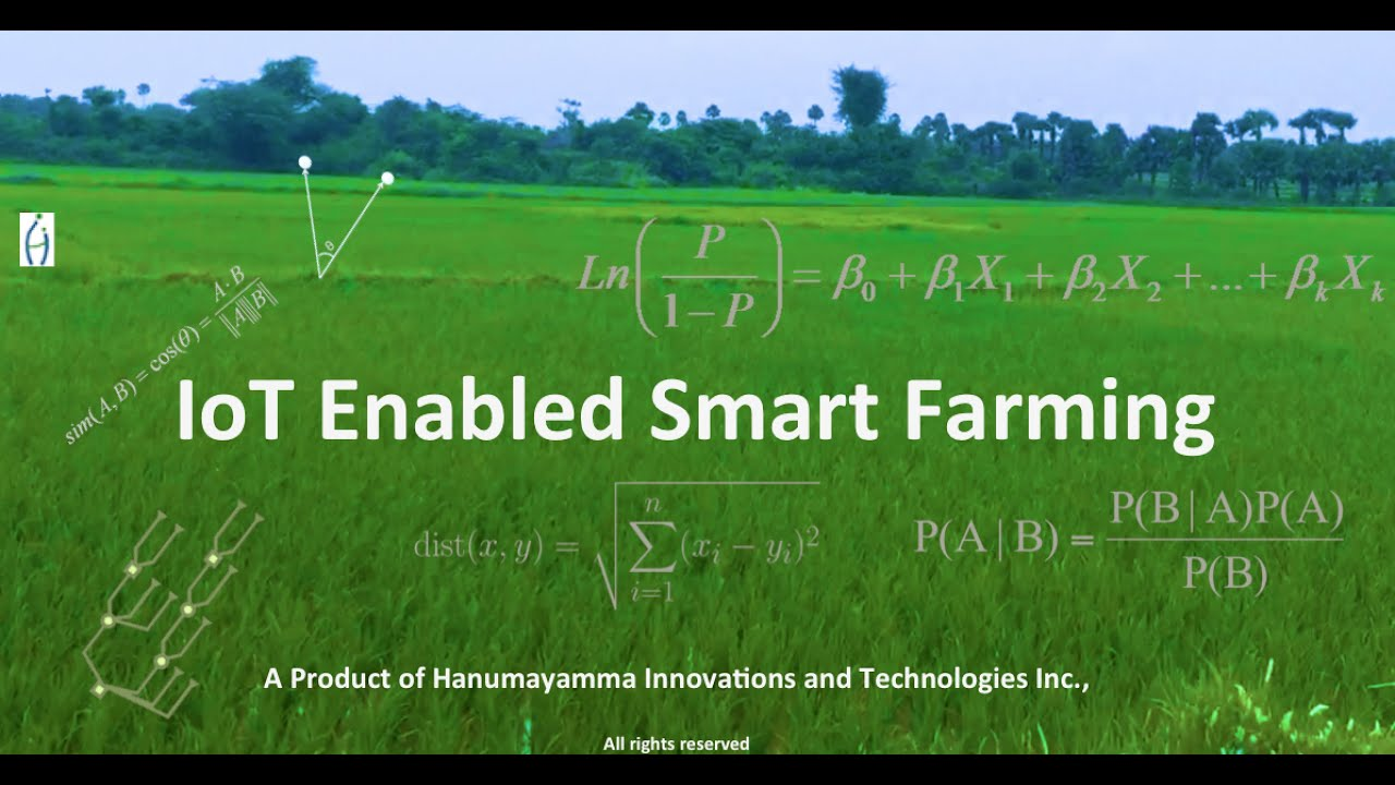 IoT Enabled Smart Farming