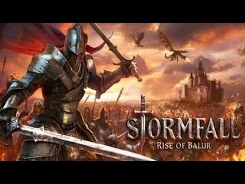 KKGamer - Stormfall - Rise of Blaur (by Plarium) - iOS _ Android - HD Gameplay