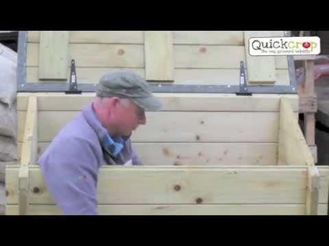 Garden Chest - Heavy Duty Outdoor Storage Box
