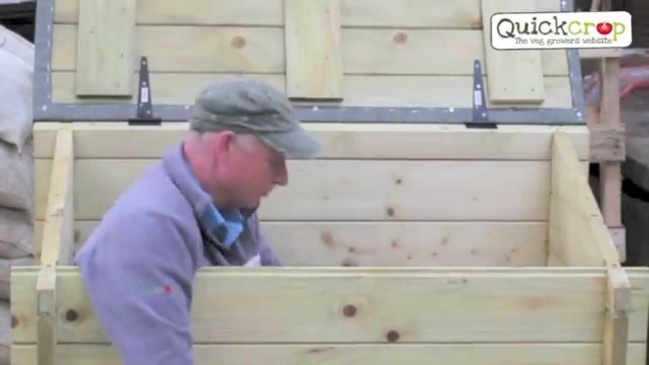 Garden Chest Heavy Duty Outdoor Storage Box Youtube