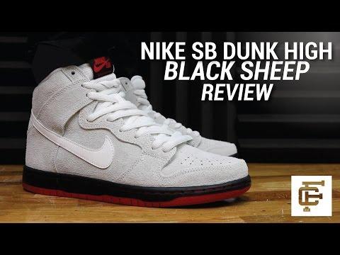 NIKE SB DUNK HIGH BLACK SHEEP REVIEW