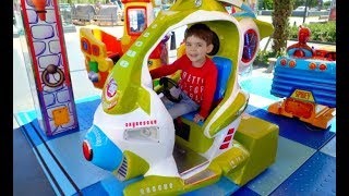 Children Fun Ride on Plane Kids Song