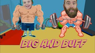 SHOULD WE BUFF UP WHILE WE ARE HERE ?! [ ESCAPE THE GYM ROBLOX GAMEPLAY ]