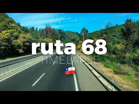 From Valparaiso to Santiago de Chile | Ruta 68 🏔