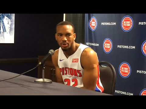 Avery Bradley talks about role with Pistons