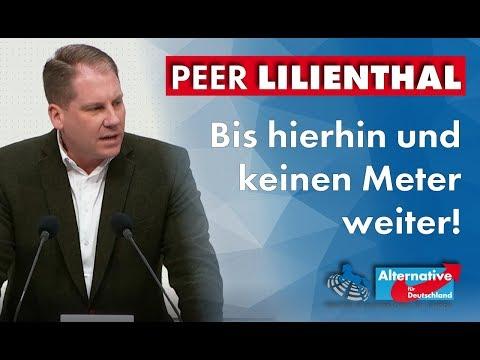 Nord/LB: Bis hierhin und keinen Meter weiter! Peer Lilienthal, MdL (AfD)