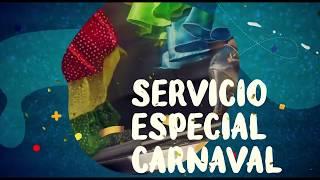 Carnaval 2019 en Guaguas Municipales (primera semana)