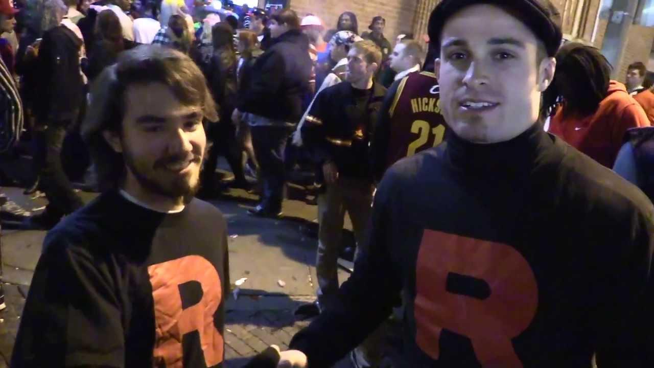 athens ohio halloween block party 2013 - youtube