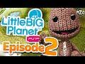LittleBigPlanet PSP Gameplay - Story Mode Playthrough - Episode 2