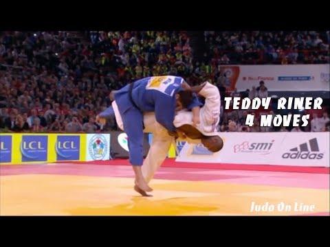 Invicible Teddy Riner in 4 moves