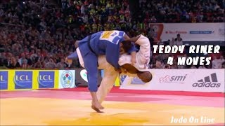 Invicible Teddy Riner in 4 moves