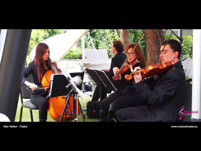 Alan Walker - Faded Piano & string trio Cover