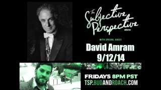 The Subjective Perspective Show featuring David Amram discussing Pete Seeger and his passing