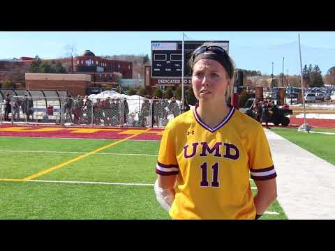 Postgame (4/19/18): UMD Sweeps Northern State; Walter Earns 100th Win At UMD