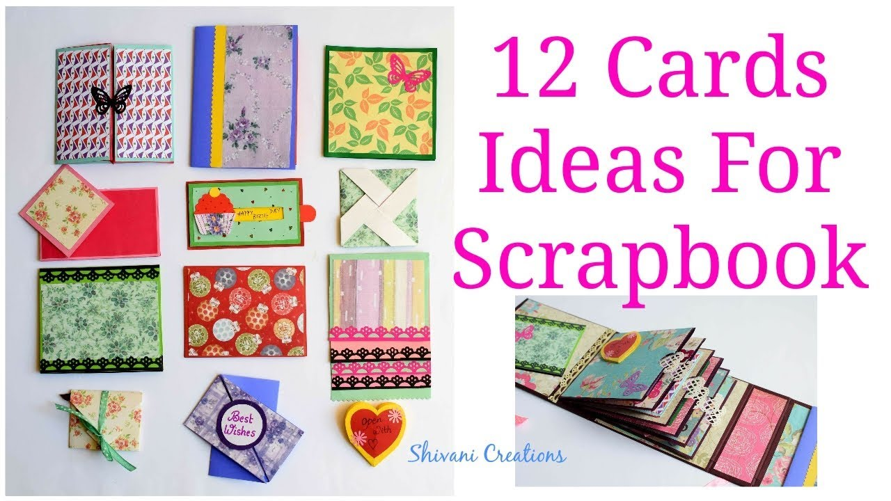 How To Make Scrapbook Pages 12 Birthday Card Ideas Diy Birthday