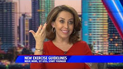Fox 5 San Diego - New Exercise Guidelines - November 13, 2018