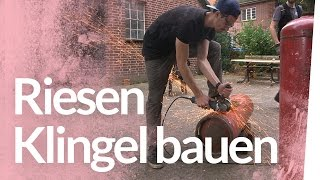 Glockenbau und Propanofen - Besuch aus der Feldschmiede | Kliemannsland
