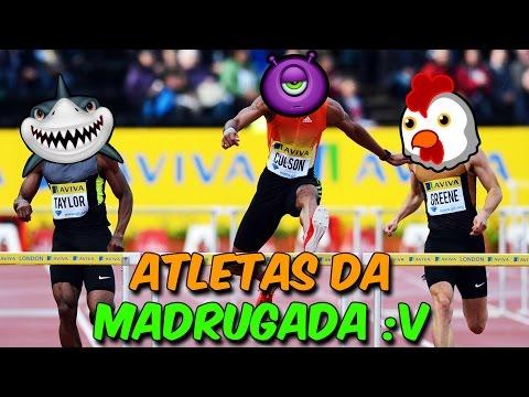 ATLETAS DA MADRUGADA :V C/ULTIMATE & BEN