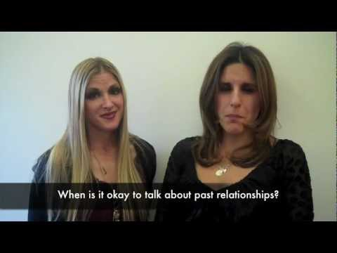 When to talk about past relationships when dating