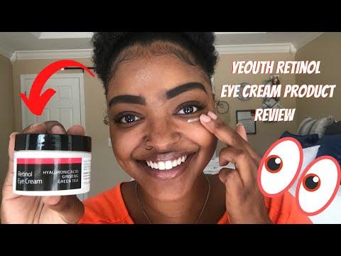 Yeouth Retinol Eye Cream 3 Day Product Review Mila B Youtube