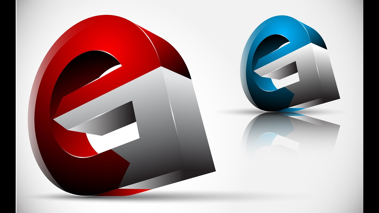 How To Create Full 3d Logo Design In Adobe Illustrator Cs5