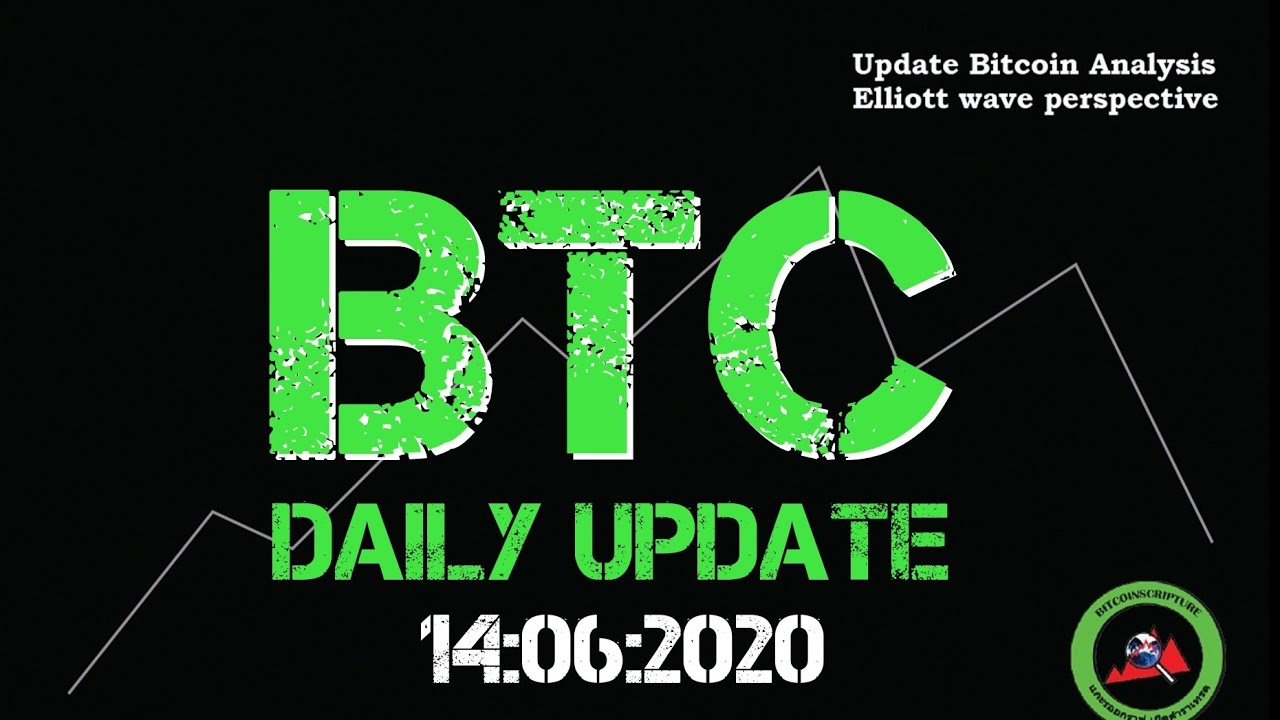 BTC​ daily​ update​ 14​/06/2020