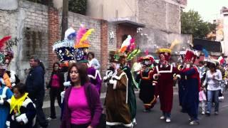 Comparsa de  Chinelos Santa  Rosa Xochiac