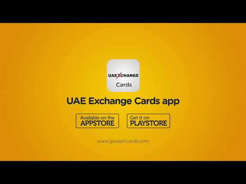 Gocash Is Now UAE Exchange Cards!