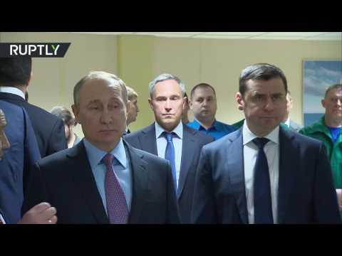 الرئيس الروسي بوتين يدشن مصنع إنتاج محركات السفن  - نشر قبل 4 ساعة