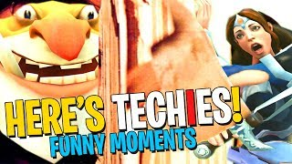 HERE'S TECHIES! - DotA 2 Funny Moments
