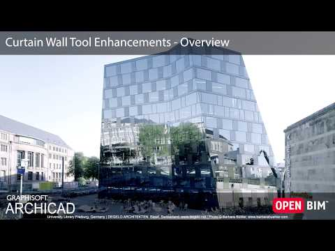ARCHICAD 22 - Curtain Wall - Overview